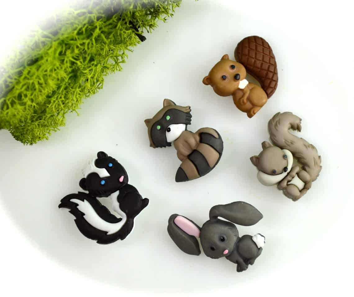 woodland creatures  1140x956 - DIY Fairy House Inspiration Plus Everything You Need To Make Your Own