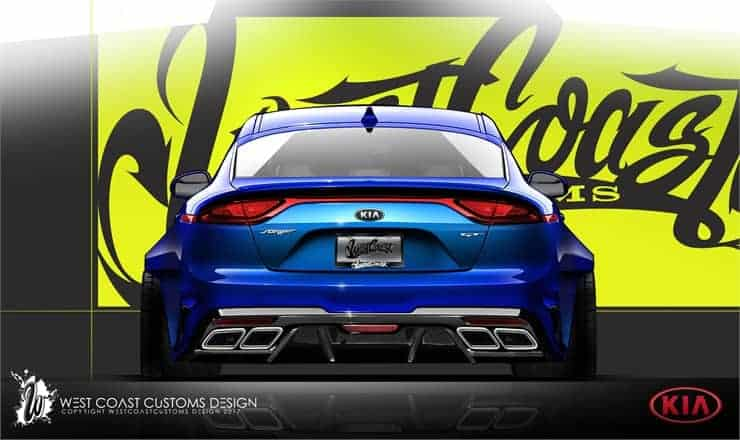Kia Stinger at SEMA