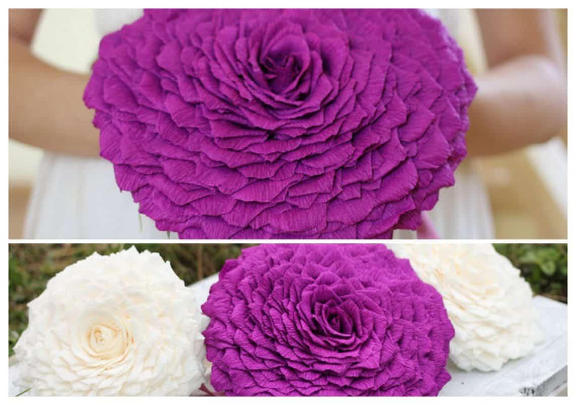 glamelia 11 2 collage 1140x802 - 20 Stunningly Gorgeous Glamelia Bridal Bouquets