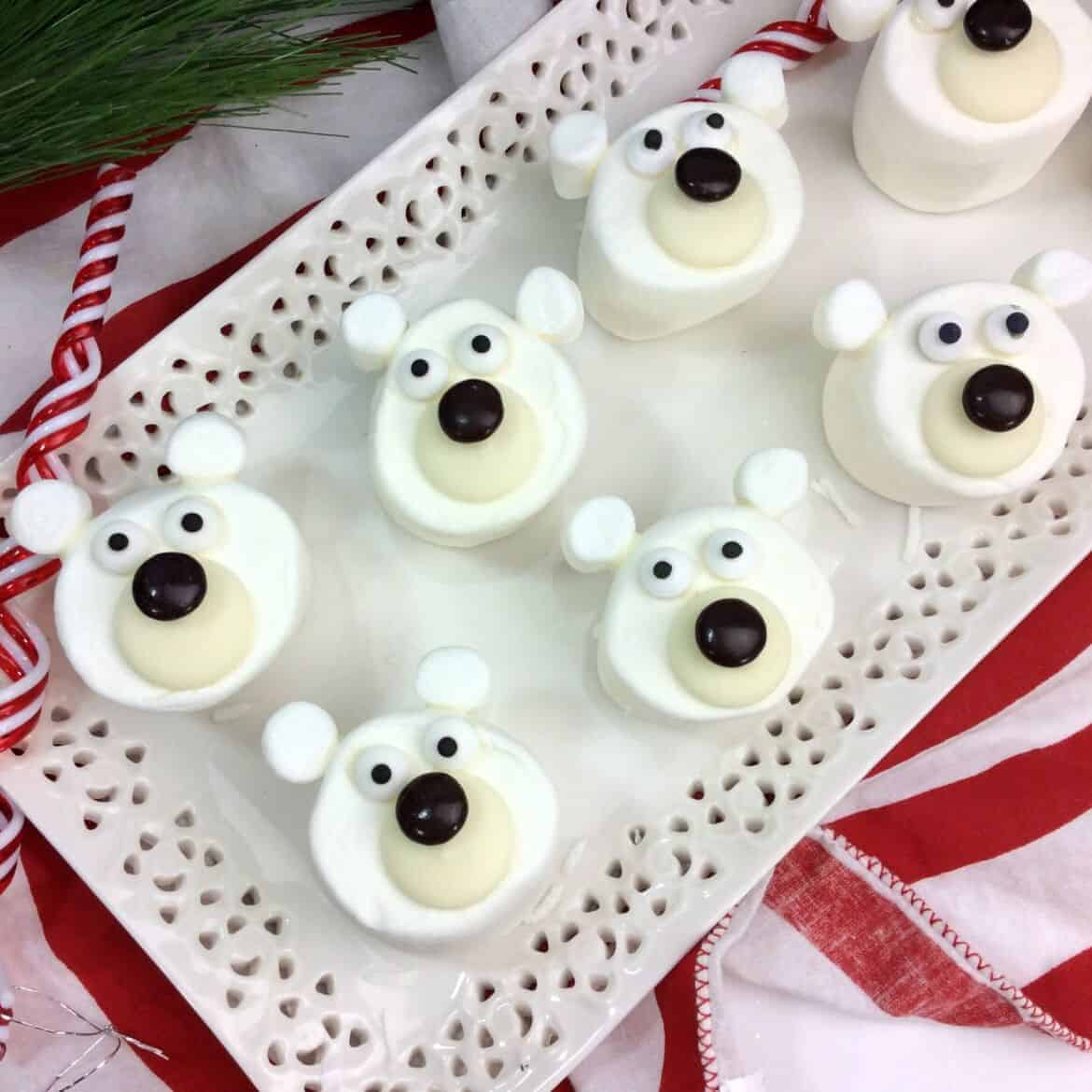 polar bear marshmallows recipe