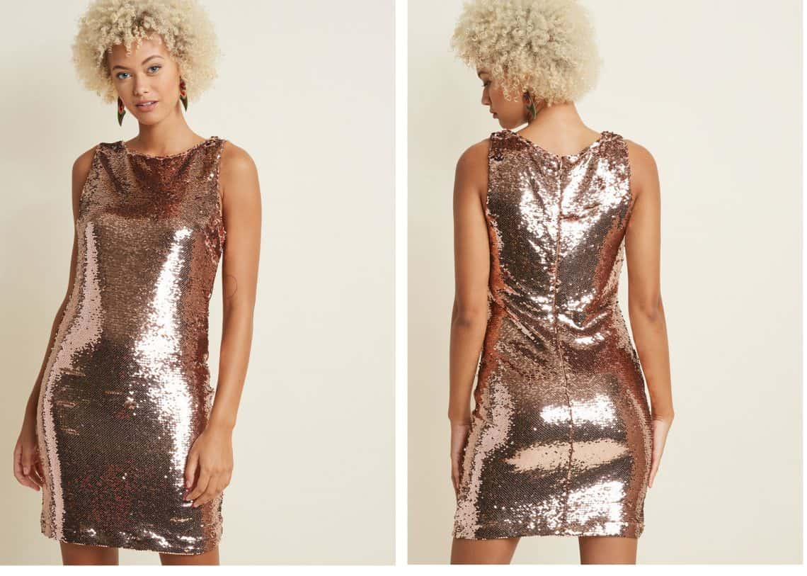 gold dress collage Copy 1140x813 - Dress Ideas That Will Make You Sparkle On New Year's Eve