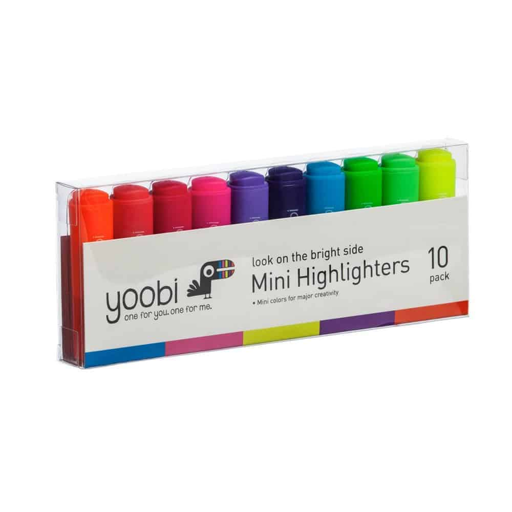 yobi mini highlighters - Holiday Gift Guide 2017: Gifts That Give Back
