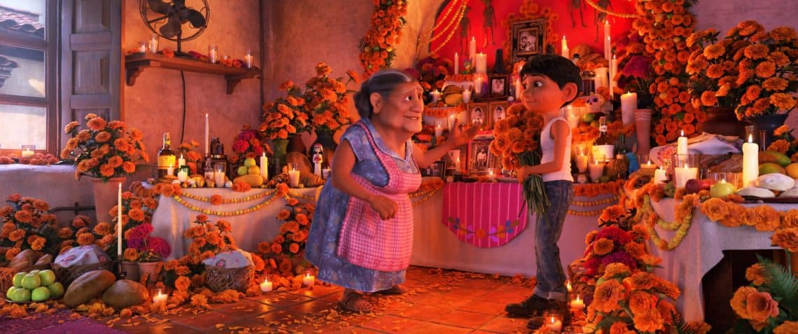 Coco and Day of the Dead