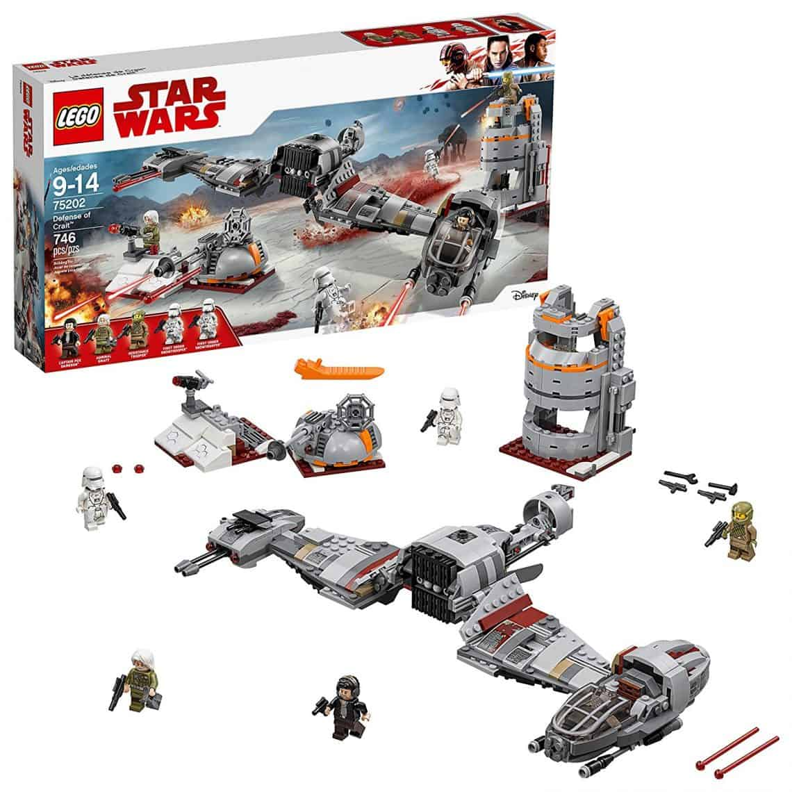 Gift Ideas for Star Wars The Last Jedi Fans lego set