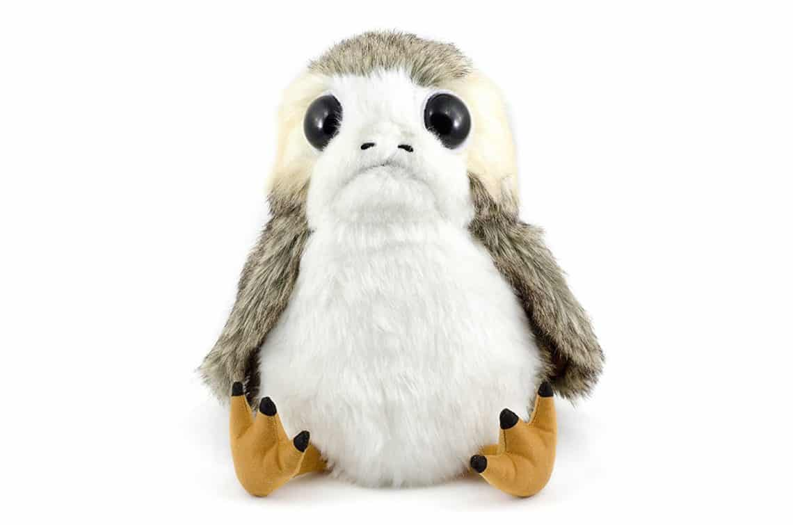 Gift Ideas for Star Wars The Last Jedi Fans talking porg plush