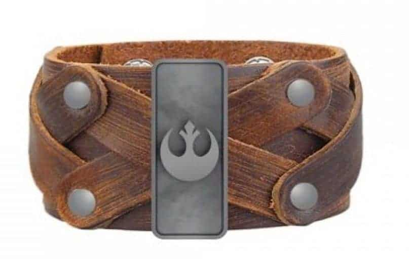 Gift Ideas for Star Wars The Last Jedi Fans rebel bracelet