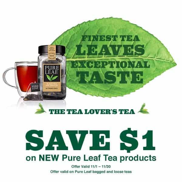 pure leaf tea coupon