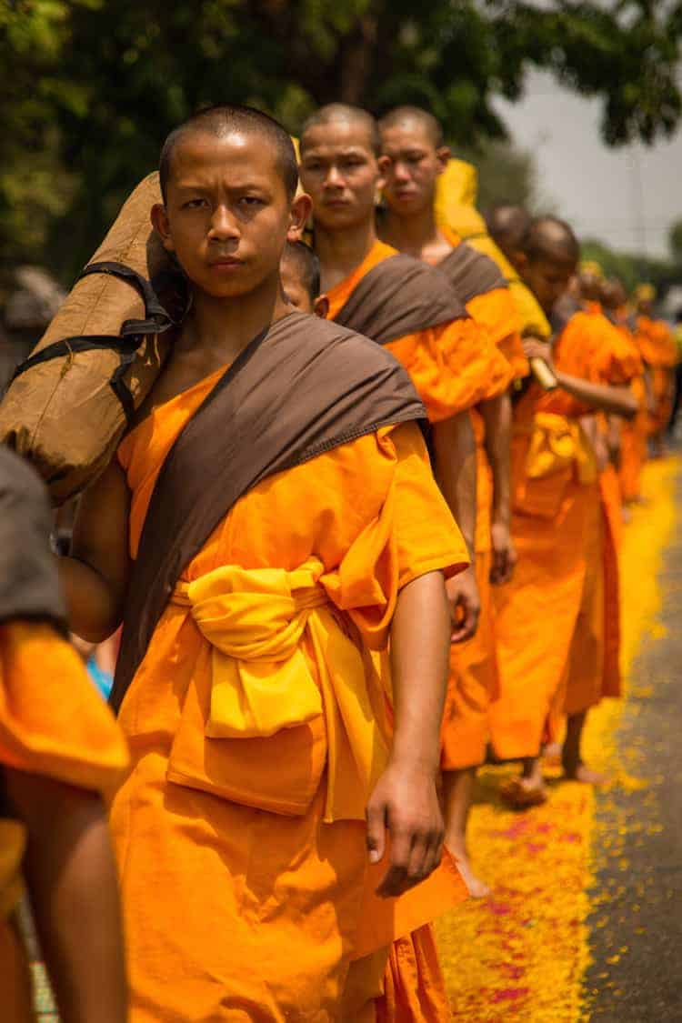 500 Dhutanga Monks