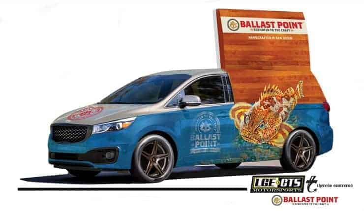 2014 SEMA Show Ballast Point Sedona