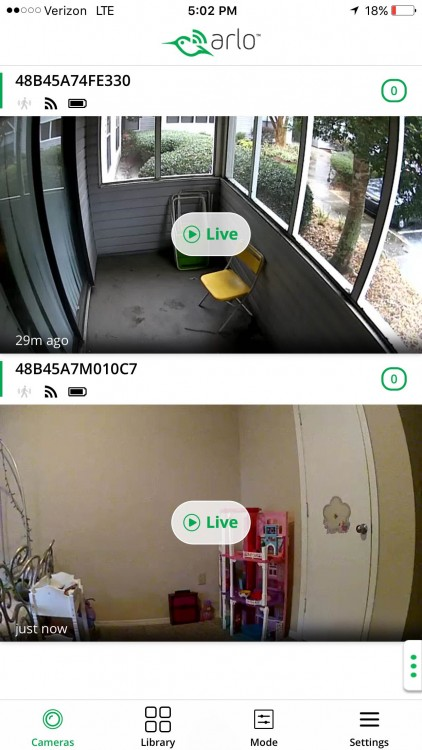 Arlo smart home security