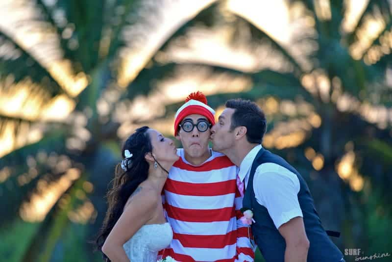 where's waldo wedding