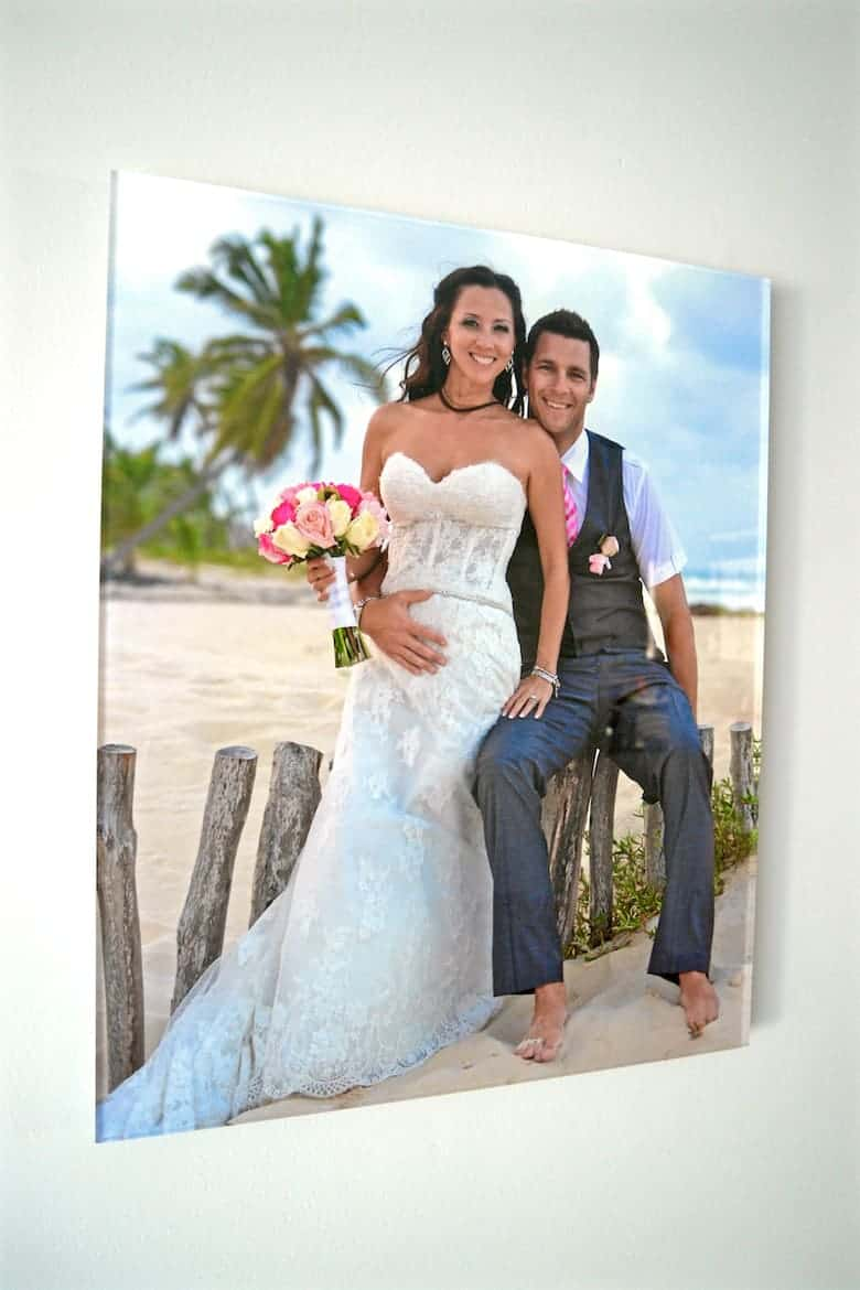 CVS photo acrylic print