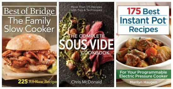 Cook Book Collage - Holiday Gift Guide 2016: Gifts for Foodies