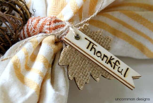 DIY Thanksgiving Projects For Home and Table 4