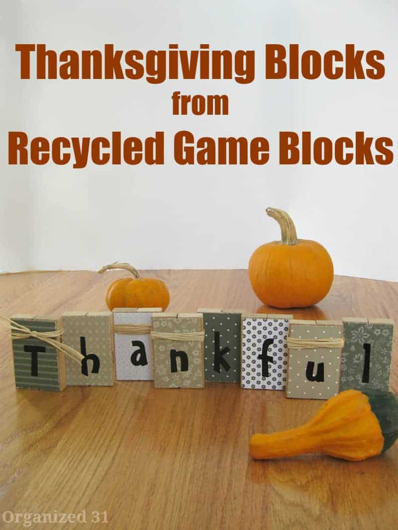 DIY Thanksgiving Projects For Home and Table 7