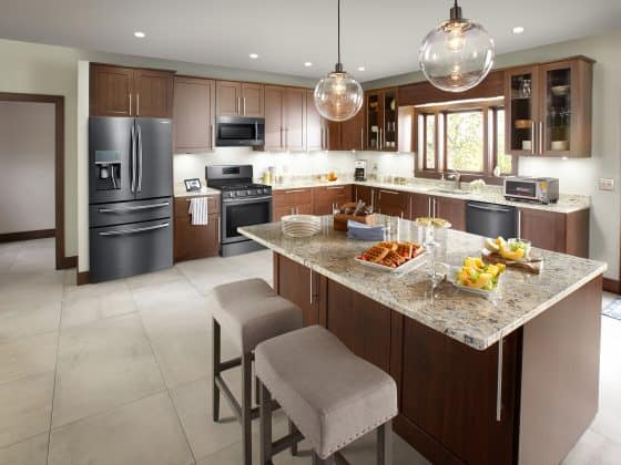 Dept4 Samsung Transitional Kitchen NoExp 560x420 - 7 Essential Kitchen Remodeling Tips You Need to Know Before You Start
