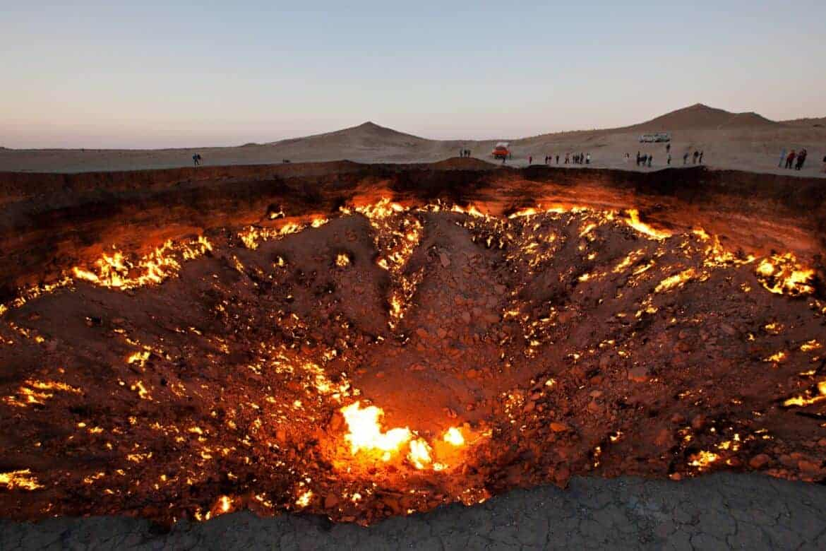 Door to Hell Turkmenistan - Must-See Bizarre Places Around the World