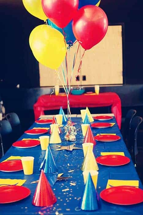 Dr Strange Party Table - Doctor Strange Birthday Party Ideas