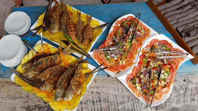 El Mangroove Costa Rica fresh catch meal