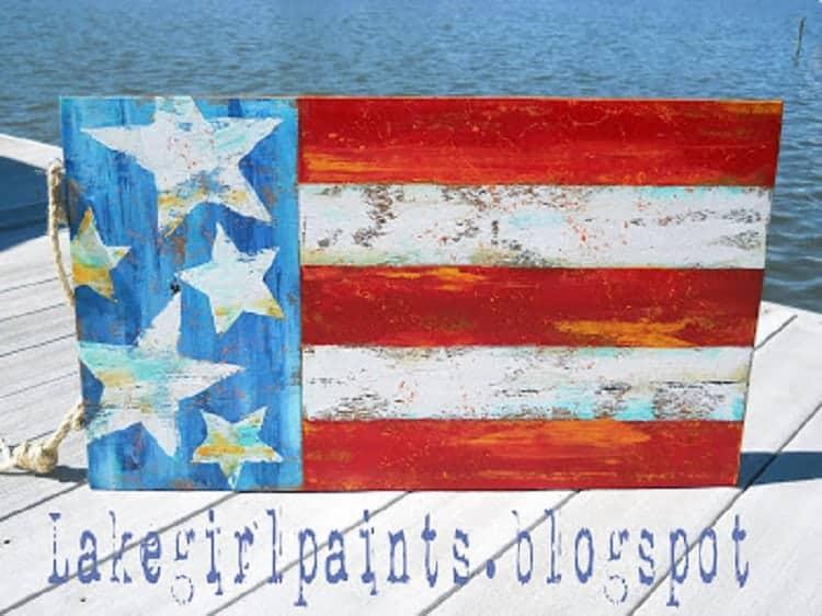 Flag on Dock Best
