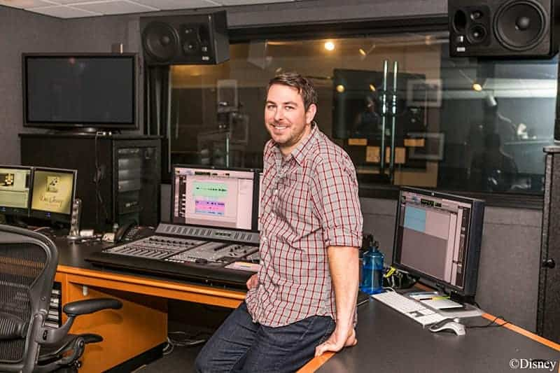 Inside the disney recording studio with frozen frozenbluray
