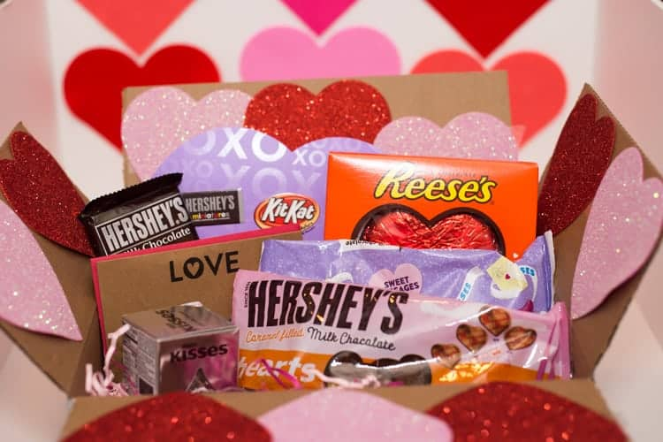 Valentines Day Care Packages Military