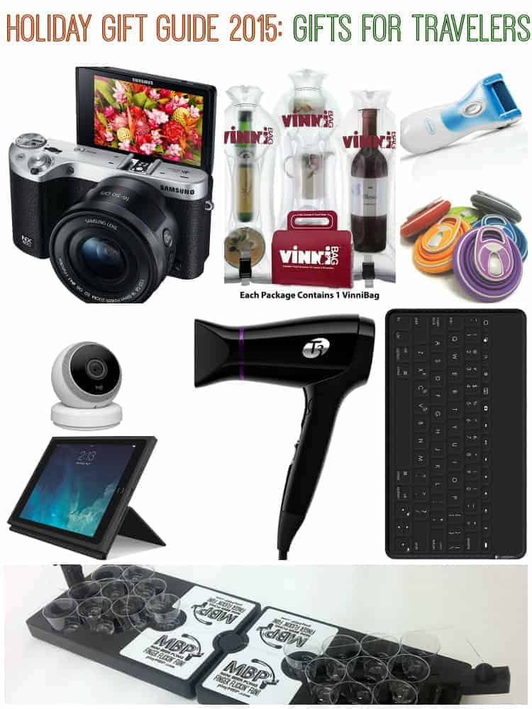 Holiday Gift Guide 2015 Gifts for Travelers - Holiday Gift Guide 2015: Gifts for Travelers