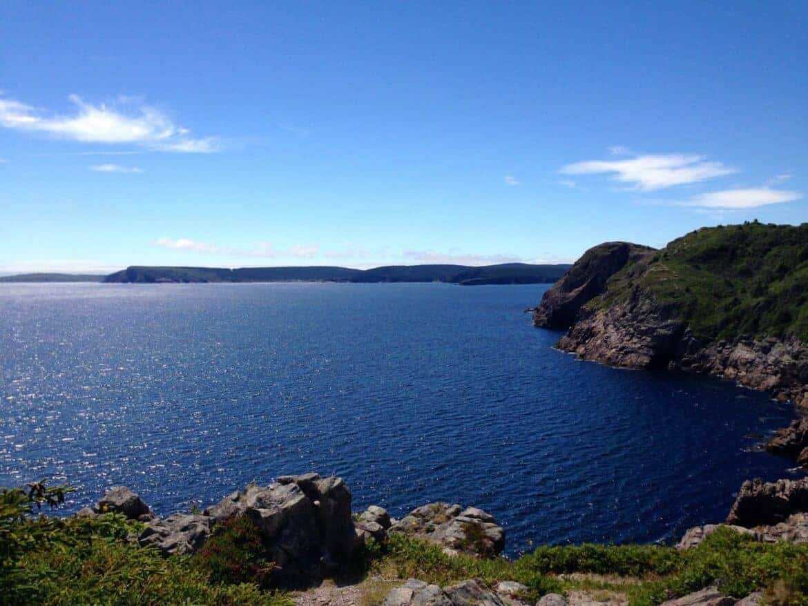 Stunning views hiking in Newfoundland.