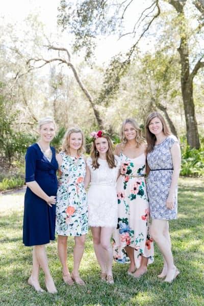 Mismatched Bridesmaids Dresses 2