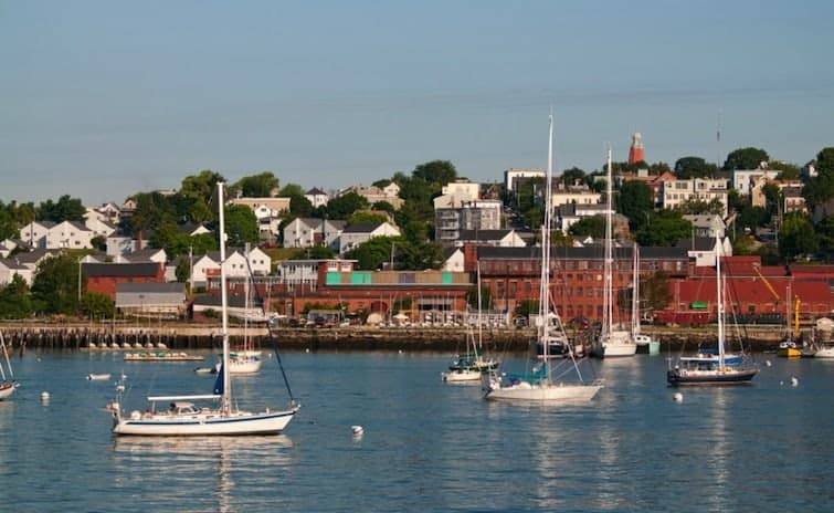 Portland Harbor Maine