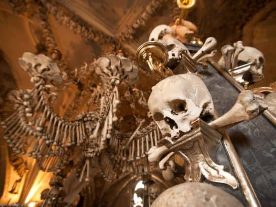 Sedlec Ossuary Czech Republic 560x420 - Must-See Bizarre Places Around the World