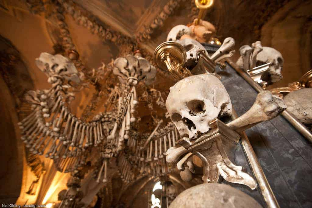 Sedlec Ossuary Czech Republic - Must-See Bizarre Places Around the World