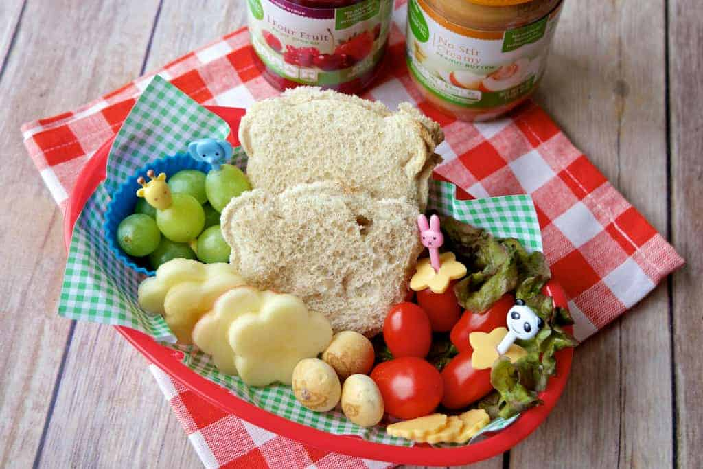 Simple Truth PB and J Bento 9 - The New and Improved Peanut Butter and Jelly Lunch