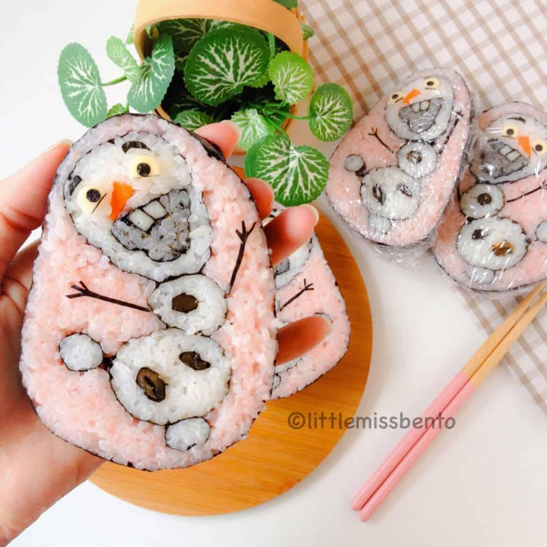 Sushi Art Olaf