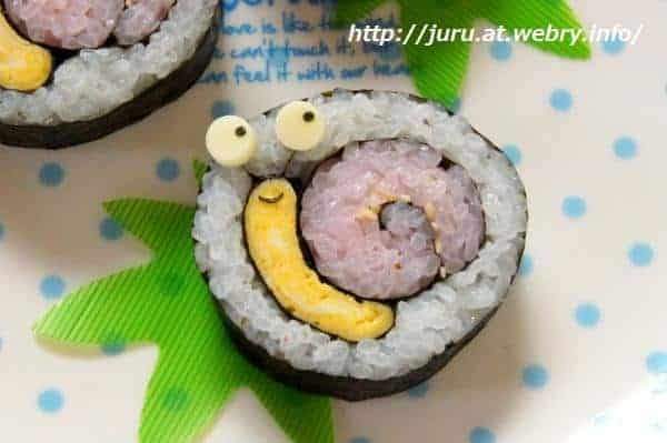 Sushi Art Snail