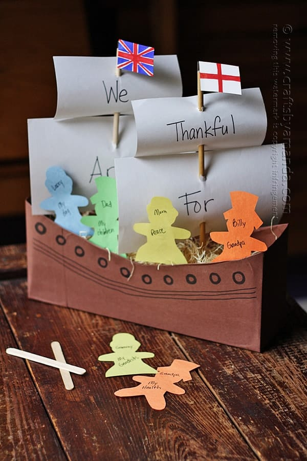 Thanksgiving Crafts for Kids 4