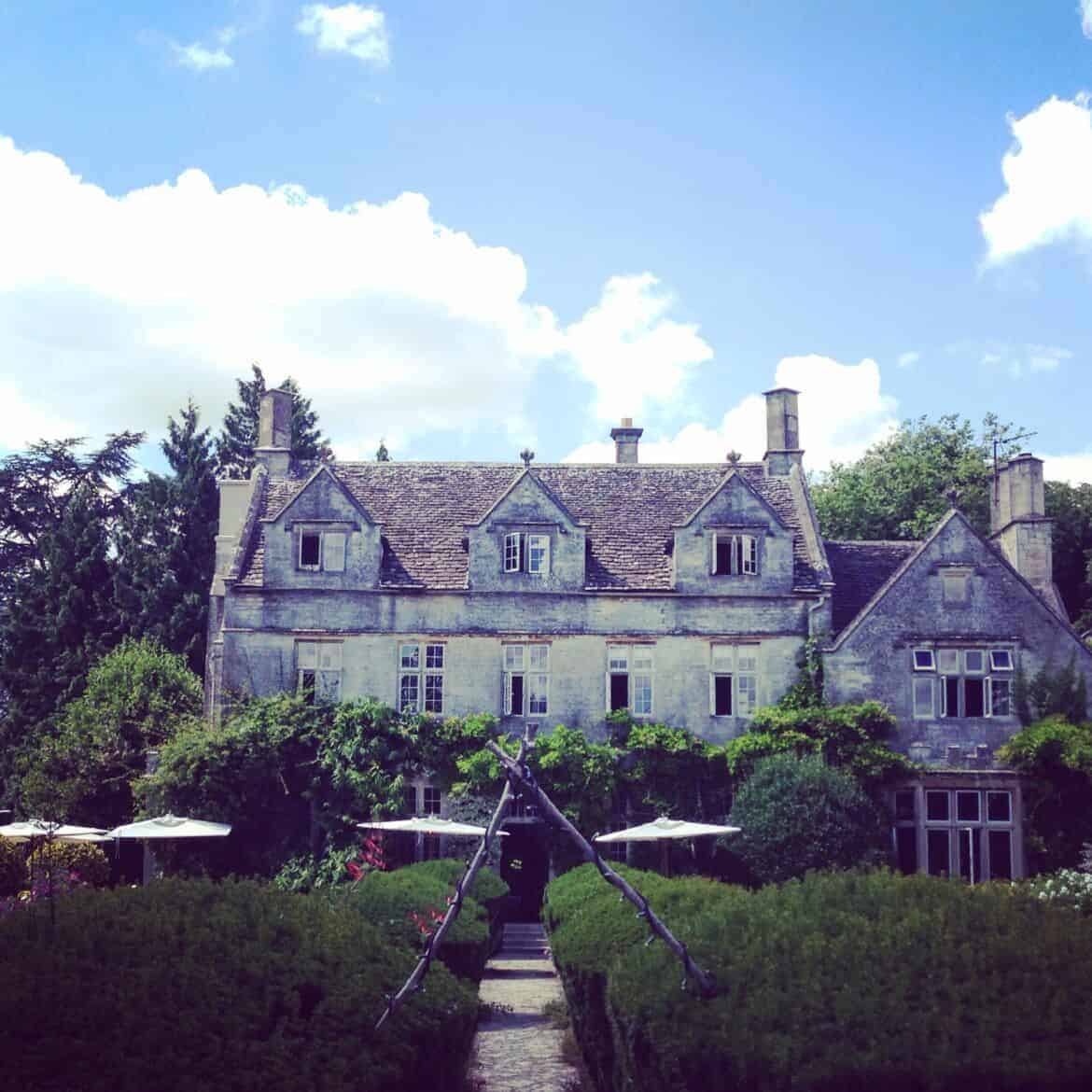 The Barnsley House in Cotswolds
