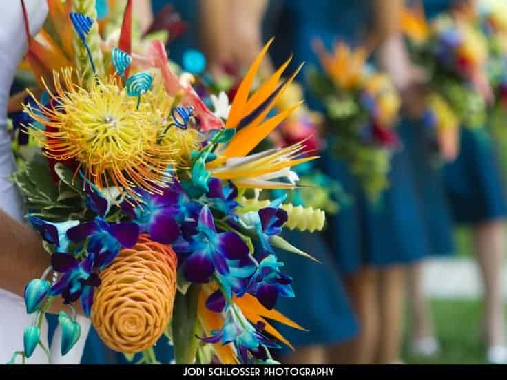 Tropical Wedding Bouquets 10