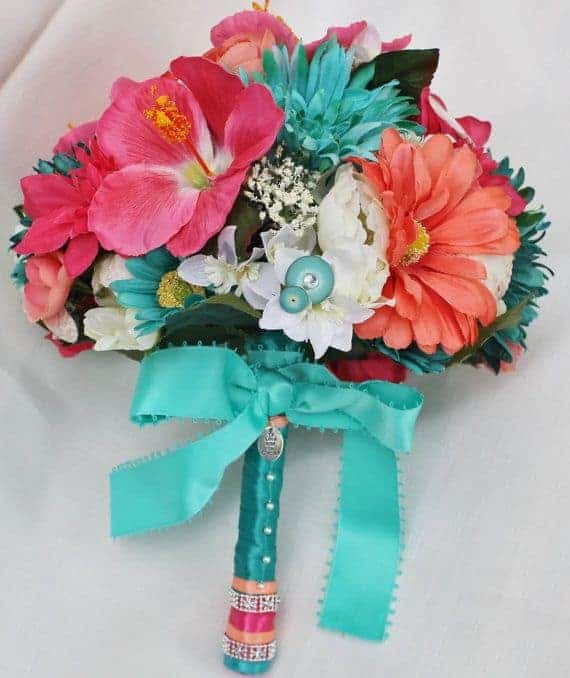 Tropical Wedding Bouquets 2