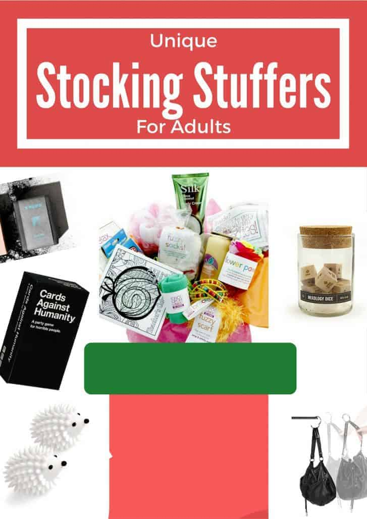 Holiday gift guide 2016 unique stocking stuffers for adults Unique stocking stuffers adults