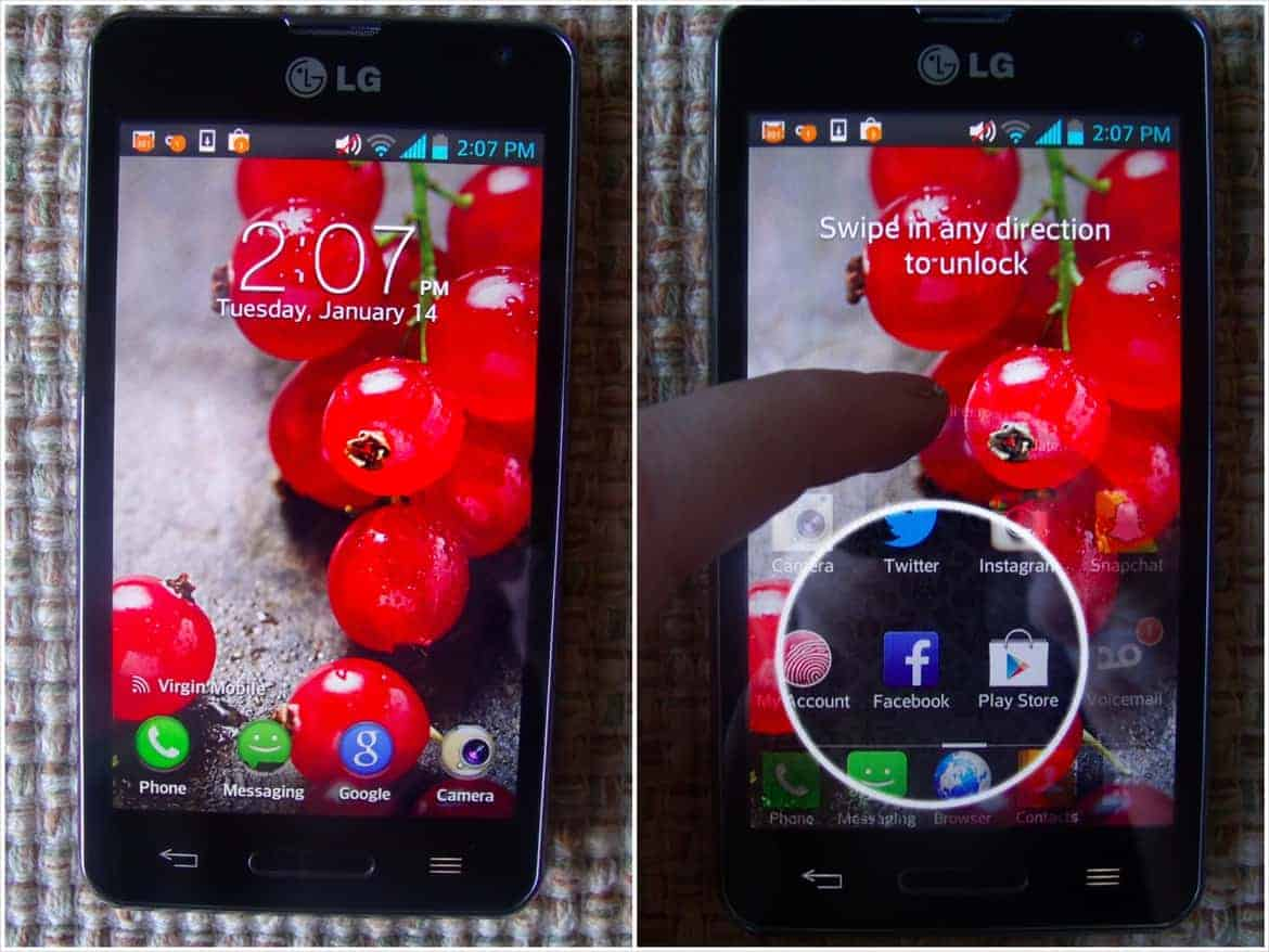 VirginMobileLGOptimusF3 - LG Soars To New Highs With The Optimus F3
