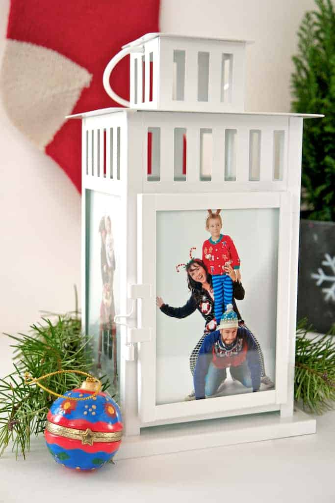 DIY Christmas Memory Lantern