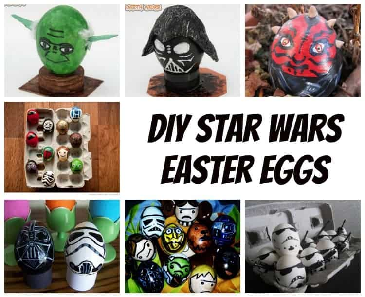 diy star wars easter eggs