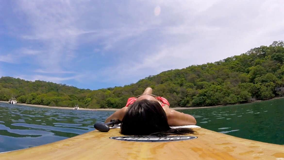 el mangroove paddle boarding - El Mangroove Inspires a Sense of Wellbeing and Reconnection