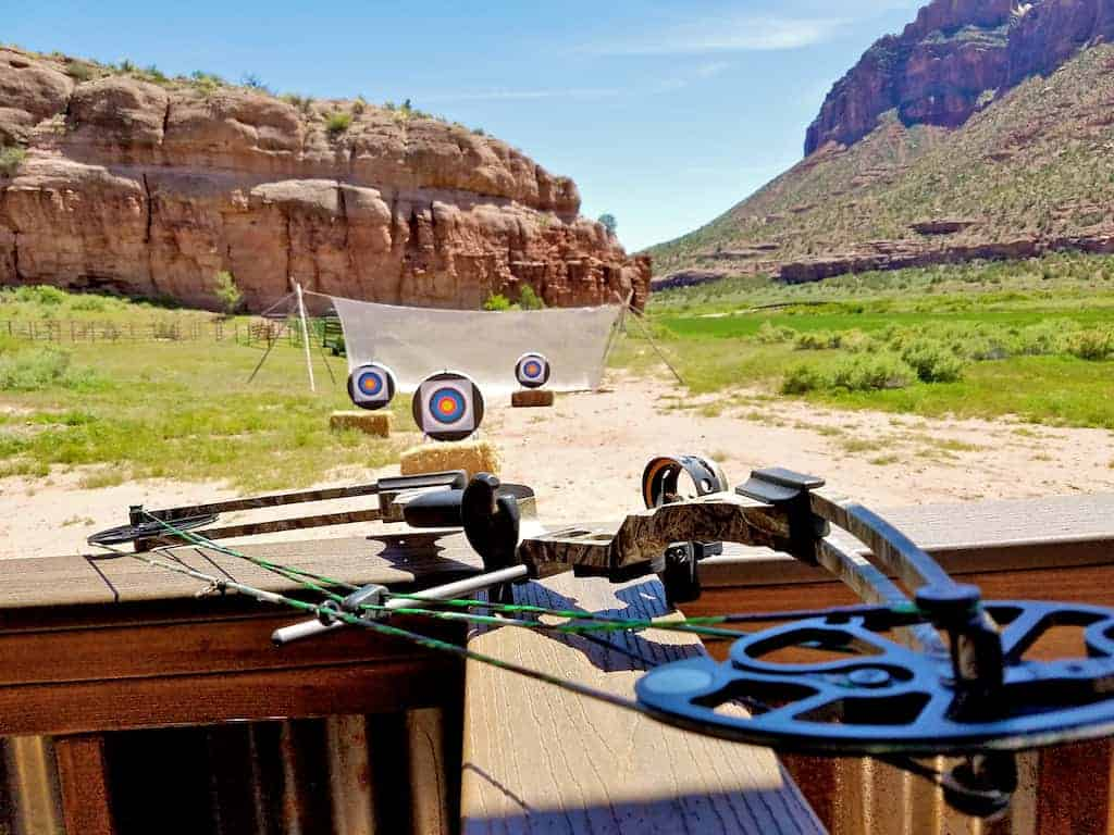 gateway canyons cattle archery
