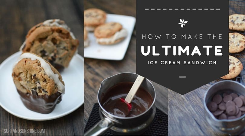 how to make the ultimate ice cream sandwich wide