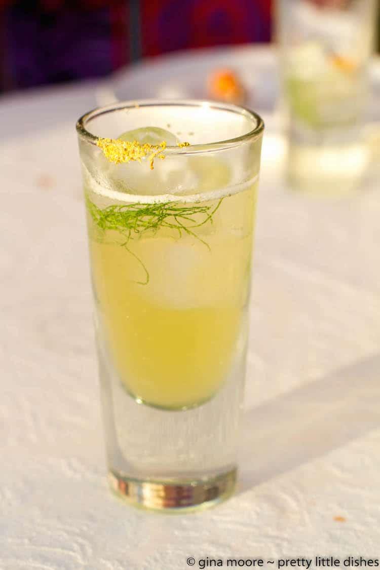 kiss my grass cocktail
