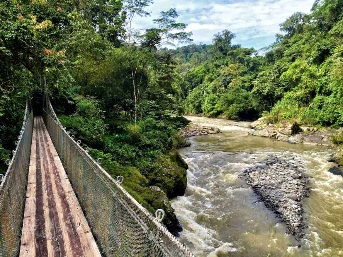 pacuare river footbridge
