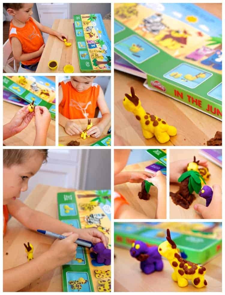 play-doh jungle book