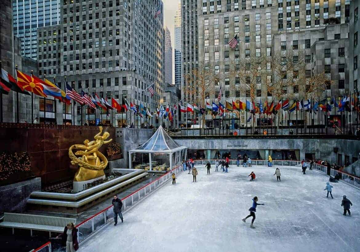 rockefeller plaza 392401 1280 - Winter Activities Around the Country...That Don't Involve Skiing